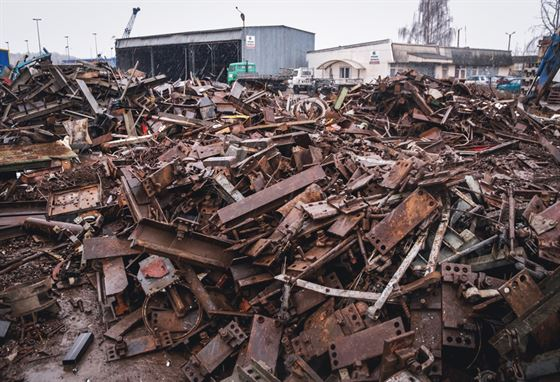 scrap metal wasteyard