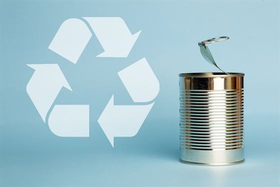 recycling tinned metal