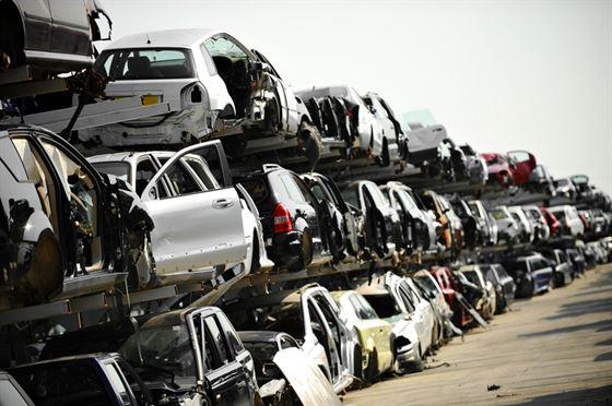 car scrapping yard